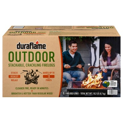 Duraflame 6pk Outdoor Log