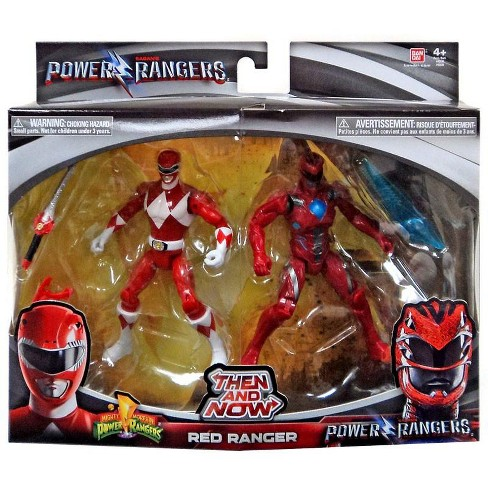 Bandai 2017 Movie Mighty Morphin Power Rangers Then and Now Pink Ranger Figure