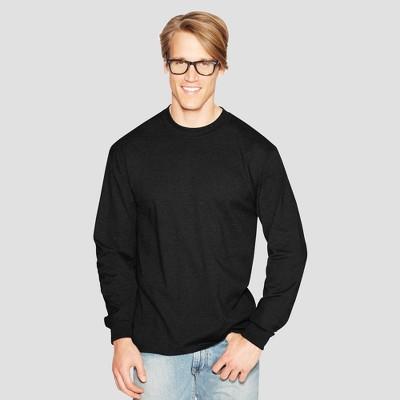 406d3b92eeb7ba Hanes Men's Long Sleeve Beefy T-Shirt : Target