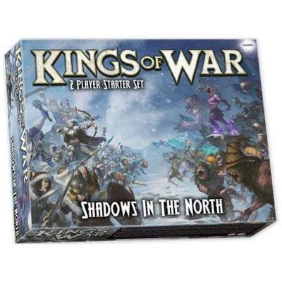 Shadows in the North - Kings of War Two-Player Starter Set (3rd Edition) Miniatures Box Set