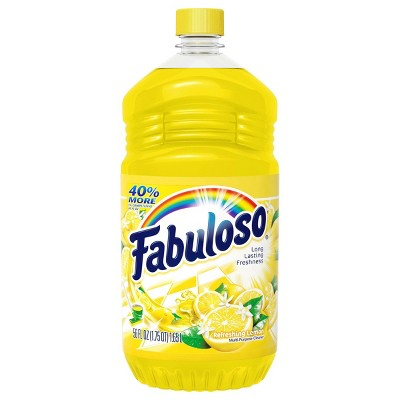 Fabuloso All Purpose Cleaner Concentrate for Multi Surface Action - Lemon - 56 fl oz
