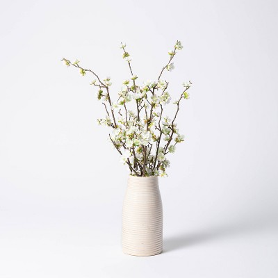 "24"" x 16"" Artificial Dogwood Branch Arrangement in Pot - Threshold™ designed with Studio McGee"