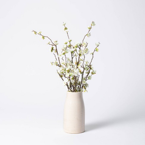 """24"""" x 16"""" Artificial Dogwood Branch Arrangement in Pot - Threshold™ designed with Studio McGee - image 1 of 4"""