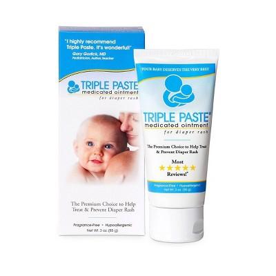 Triple Paste Diaper Rash Ointment - 3oz