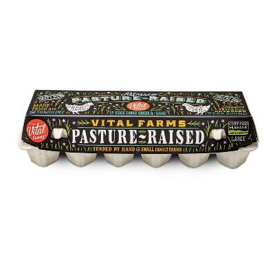 Vital Farms Alfresco Pasture-Raised Grade A Large Eggs - 12ct