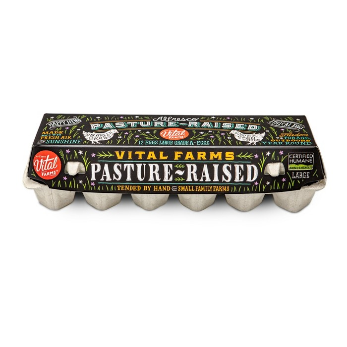Vital Farms Alfresco Pasture-Raised Grade A Large Eggs - 12ct - image 1 of 3