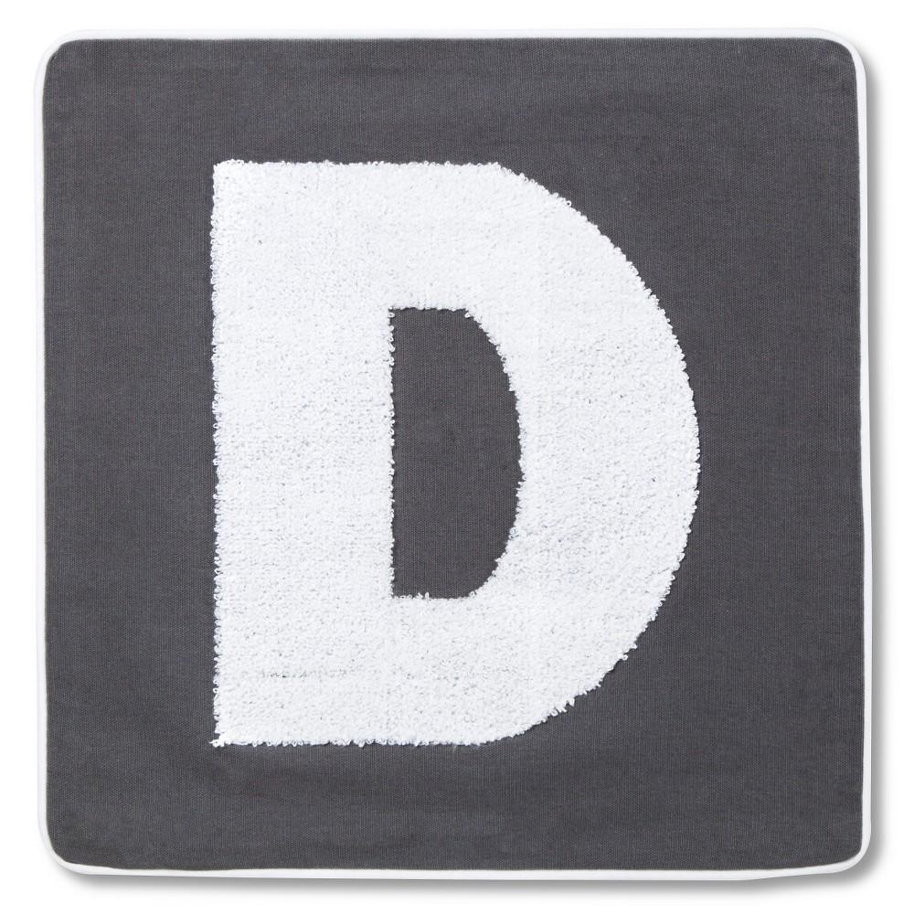 Varsity Monogram Pillow Cover 16