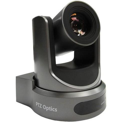 PTZOptics 2MP Full HD Indoor PTZ Camera, 20x Optical Zoom, 1920x1080 at 60fps, USB 3.0, HDMI, IP Streaming, CVBS, 60.7 degree FOV, Gray - image 1 of 1