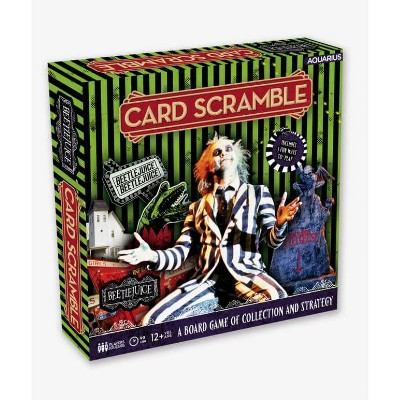 NMR Distribution Beetlejuice Card Scramble Board Game | For 2-4 Players