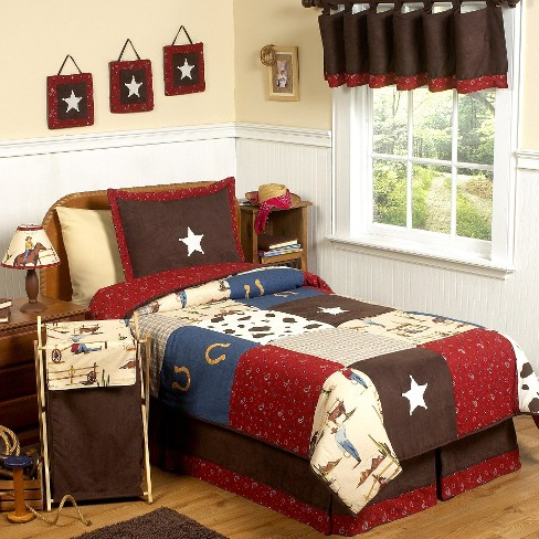 Sweet Jojo Designs Wild West Cowboy Bedding Set - Twin - image 1 of 3