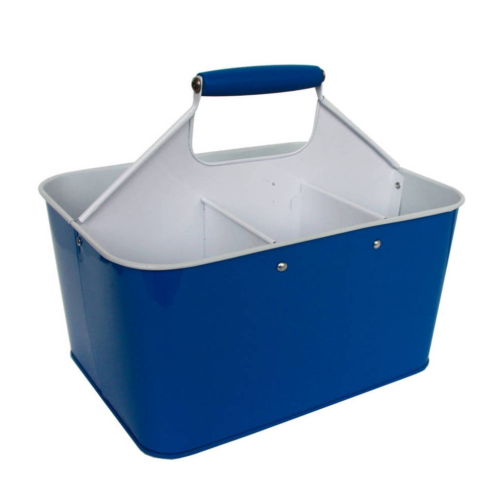 Steel Condiment Caddy - Blue, Sneaky Blue