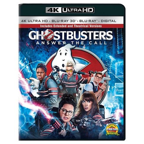 Ghostbusters (2016) (4K/UHD + 3D + Bly-ray + Digital) - image 1 of 1