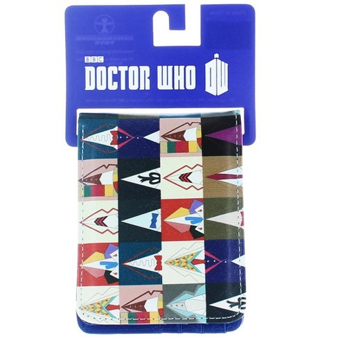 Seven20 Doctor Who Bi Fold Wallet All Doctors - image 1 of 3
