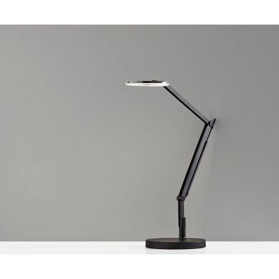 Gordon Desk Lamp (Includes LED Light Bulb) Black - Adesso