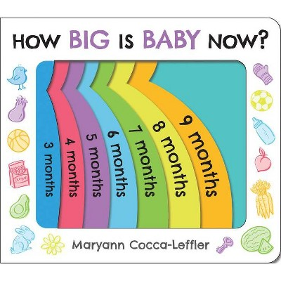 How Big Is Baby Now? - by Maryann Cocca-Leffler (Board_book)