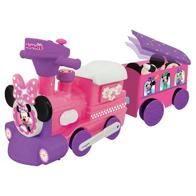 Kiddieland Disney Minnie Mouse Ride-On Motorized Train With Track