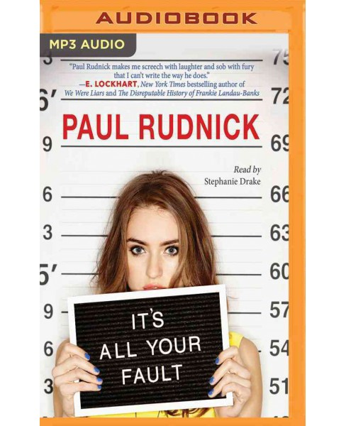 It's All Your Fault (MP3-CD) (Paul Rudnick) - image 1 of 1