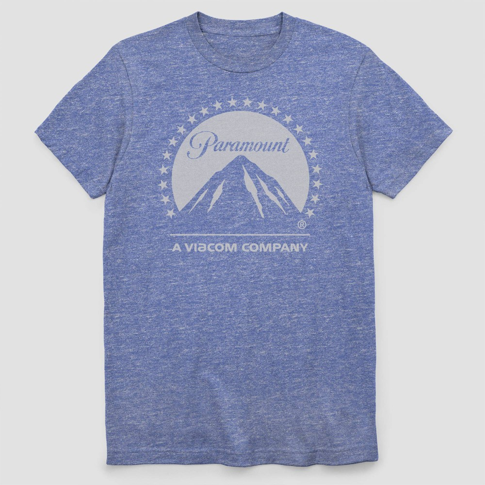 Image of Men's Paramount Short Sleeve Graphic T-Shirt - Royal Heather 2XL, Men's, Blue