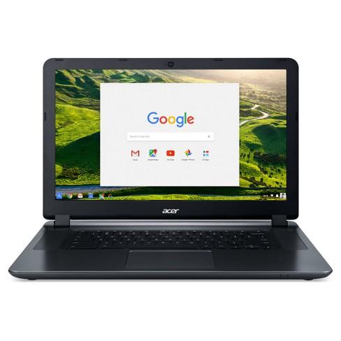 Acer Chromebook 15 15 6 Hd Celeron N3060 2gb Lpddr Target
