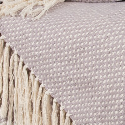 """50""""x60"""" Crosshatch Throw Blanket - Rizzy Home : Target"""