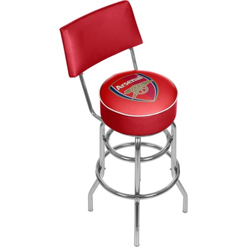 FIFA® Premier League Arsenal Swivel Bar Stool with Back - image 1 of 2