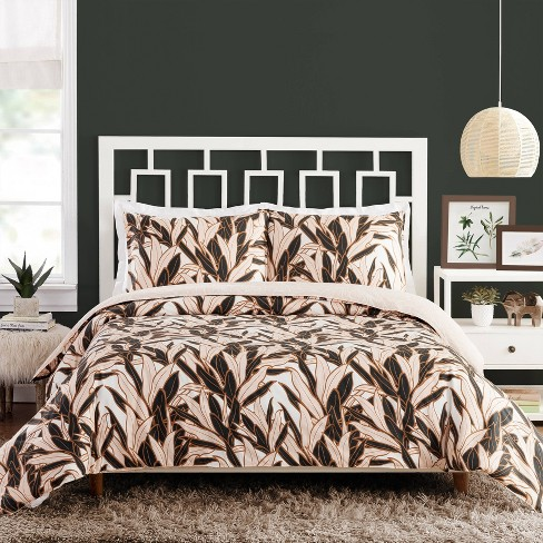 3pc Leaves Duvet Set - Teresa Chan for Makers Collective - image 1 of 4
