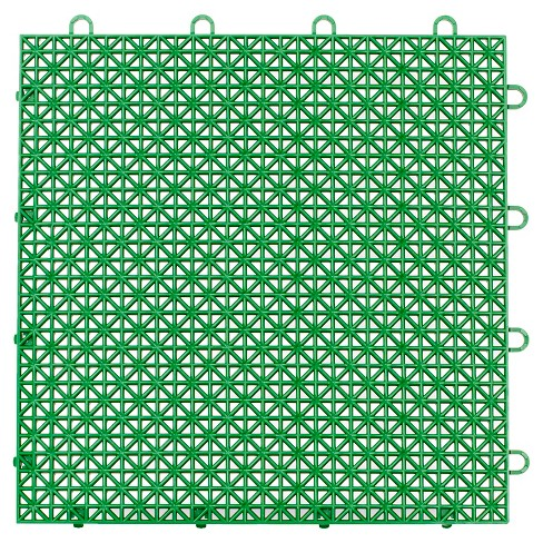 12 X12 Armadillo Floor Tile 9 Pack Extreme Green Target