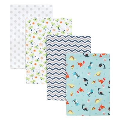 Trend Lab 4pk Blankets - Dinosaur