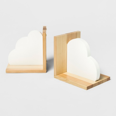 Cloud Bookends - Cloud Island™ White - image 1 of 1