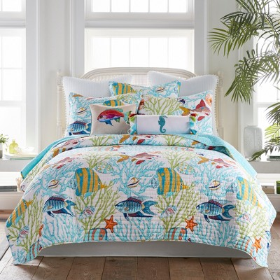Beachwalk Quilt and Pillow Sham Set - Levtex Home