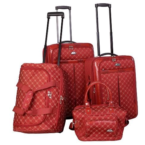 American Flyer Signature 4pc Softside Luggage Set - image 1 of 4