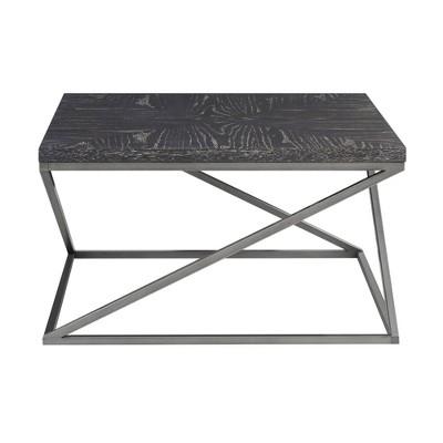 Mila Coffee Table Black/Silver