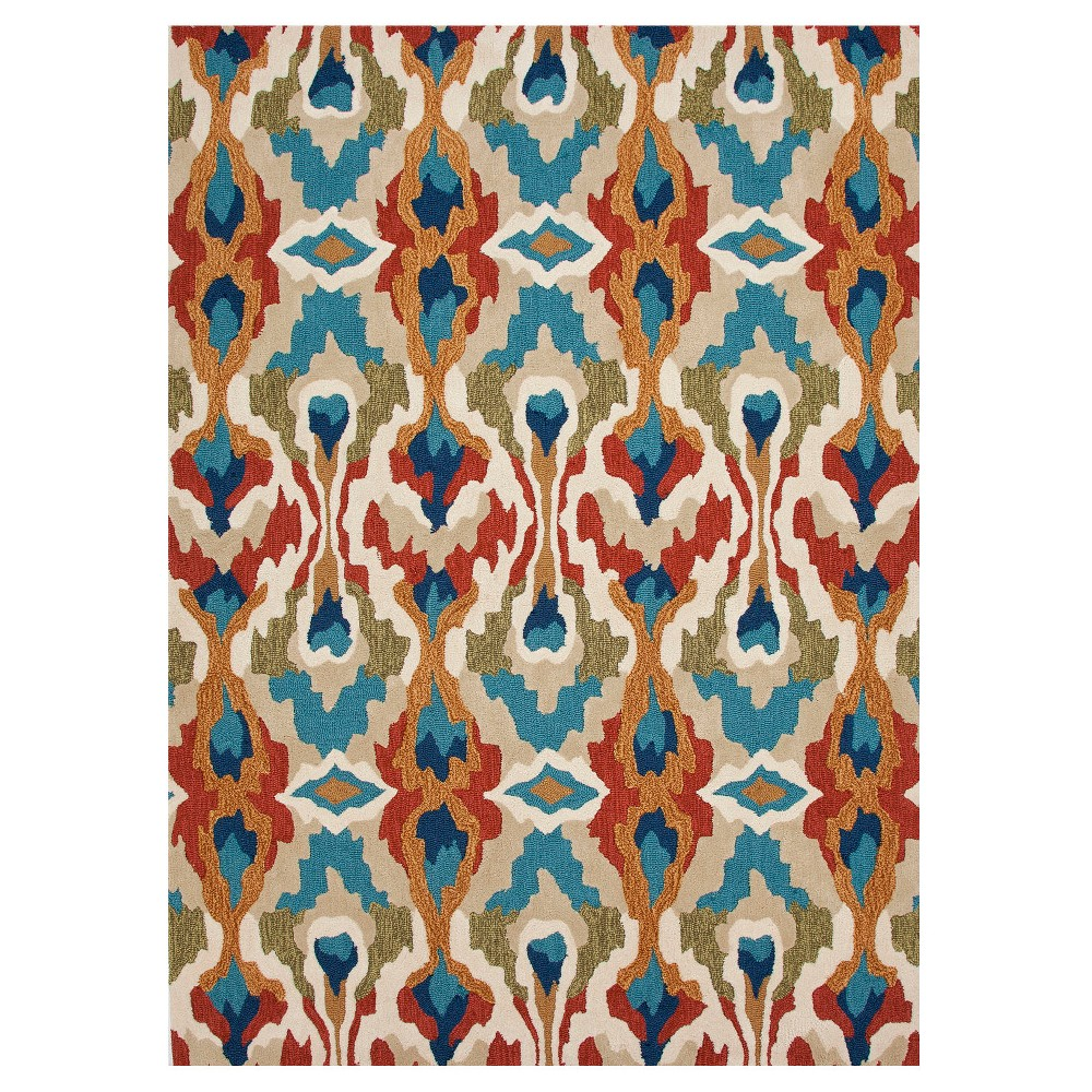 Image of Cactus Abstract Tufted Area rug - (5'X7'6) - Jaipur