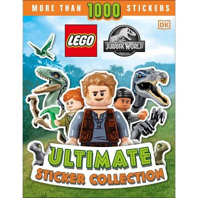 Lego Jurassic World Ultimate Sticker Collection - by Julia March (Paperback)