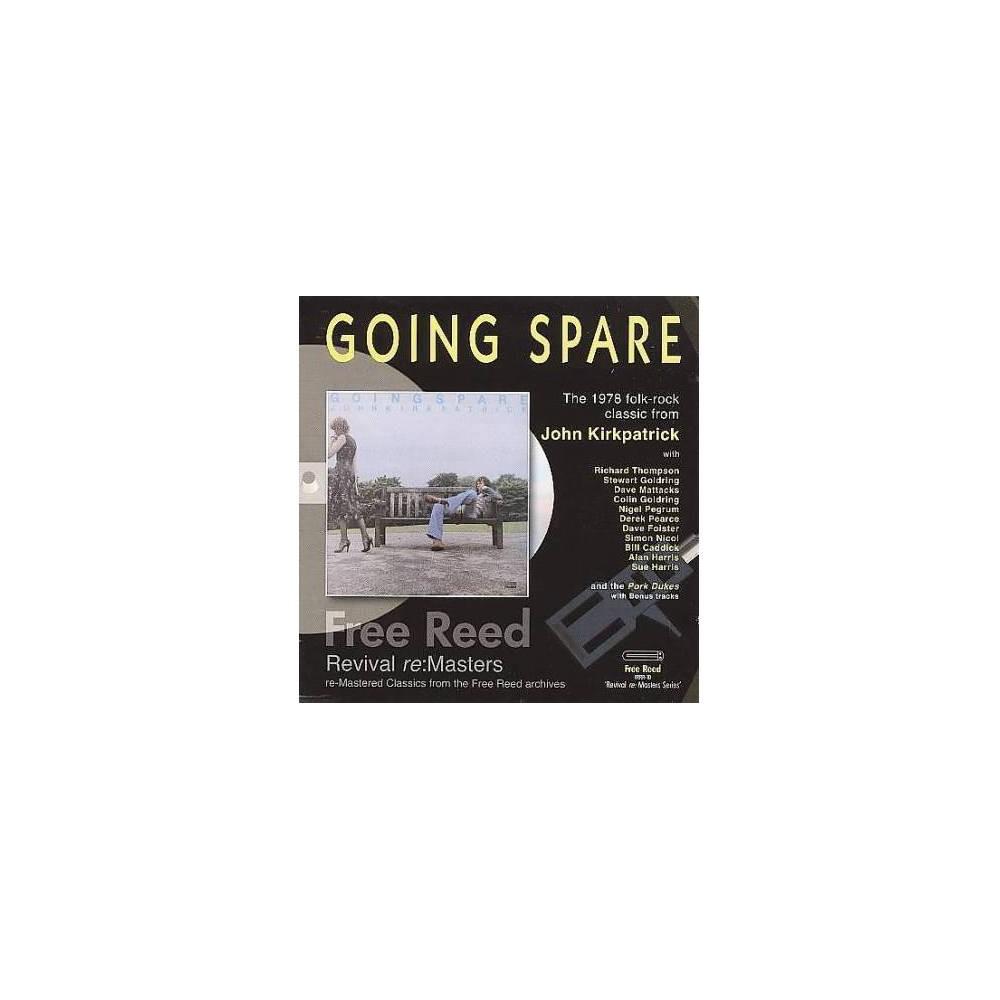 John Kirkpatrick - Going Spare (CD)