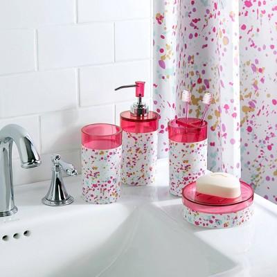 Pink Bathroom Sets Target, Hot Pink Bathroom Sets