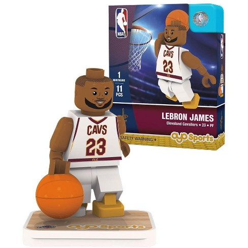 00ef43cc88b Cleveland Cavaliers Lebron James Home Uniform Limited Edition OYO Minifigure    Target