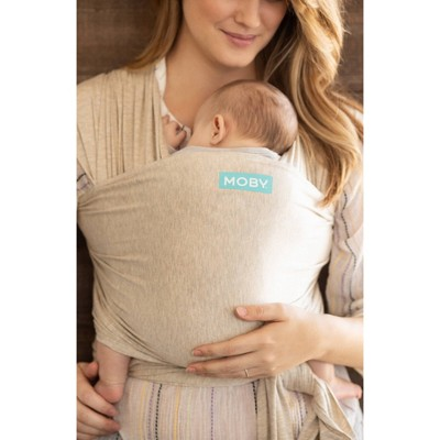 Moby Evolution Wrap Baby Carrier - Almond
