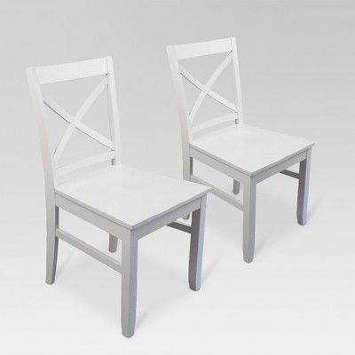 Set of 2 Carey Dining Chair White - Threshold™