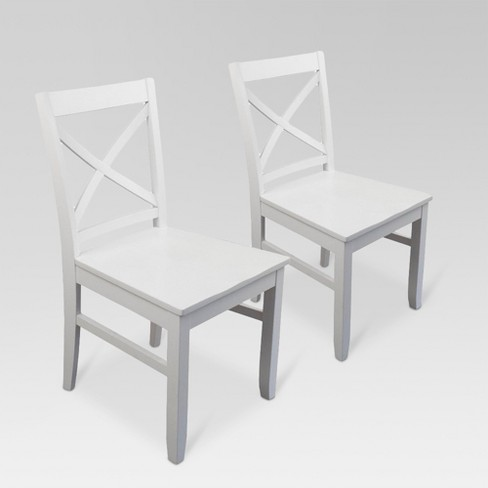 Carey Dining Chair White Set Of 2 Threshold Target