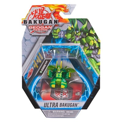 Bakugan Ultra Demorc 3in Collectible Action Figure and Trading Card