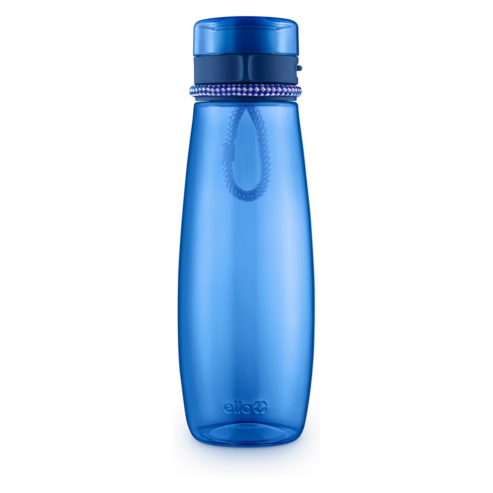 Image of Ello 31oz Twister Tritan Hydration Bottle Blue