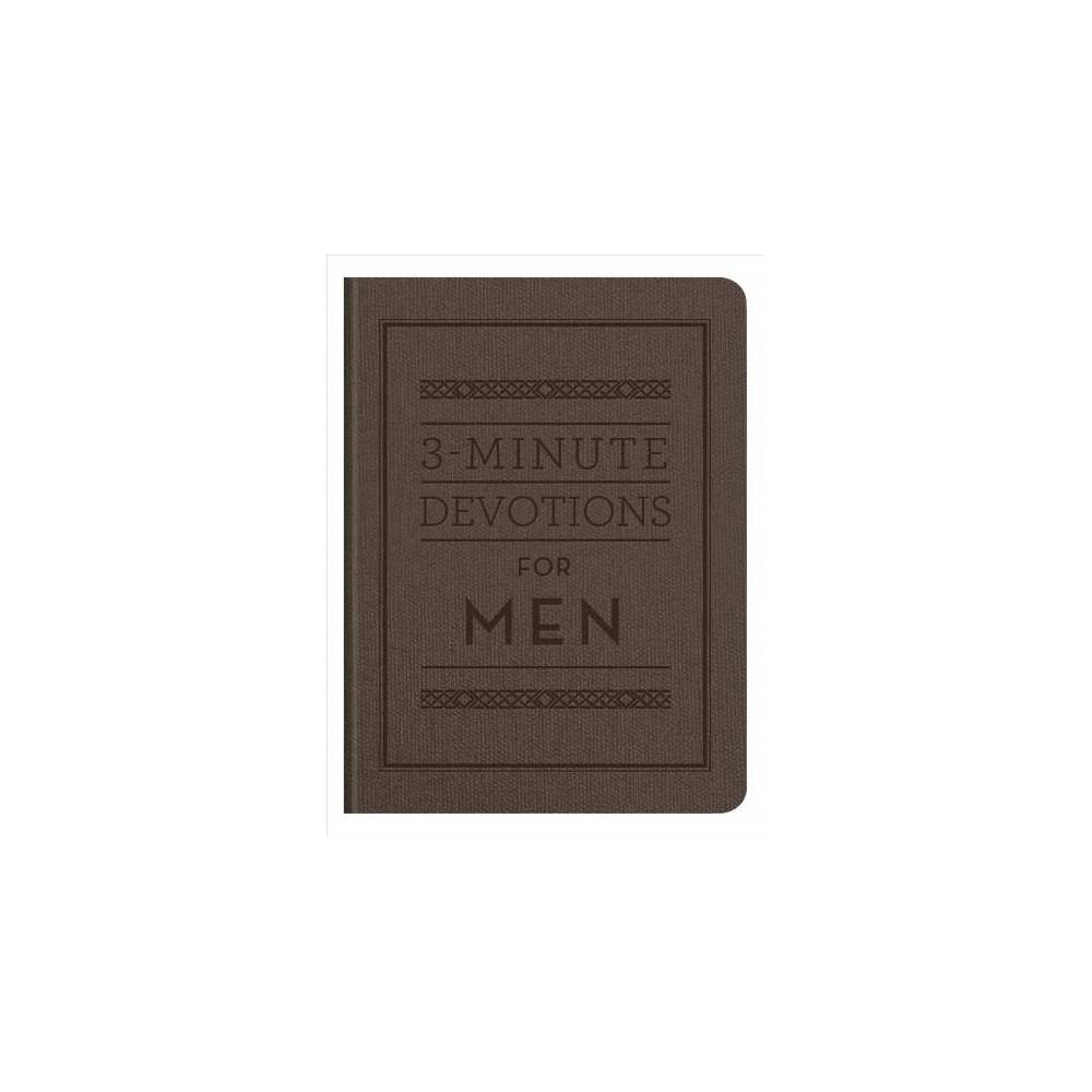 3-minute Devotions for Men - (Paperback)