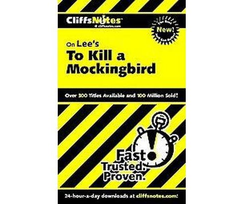Cliffsnotes on Lee's to Kill a Mockingbird (Paperback) (Tamara Castleman) - image 1 of 1