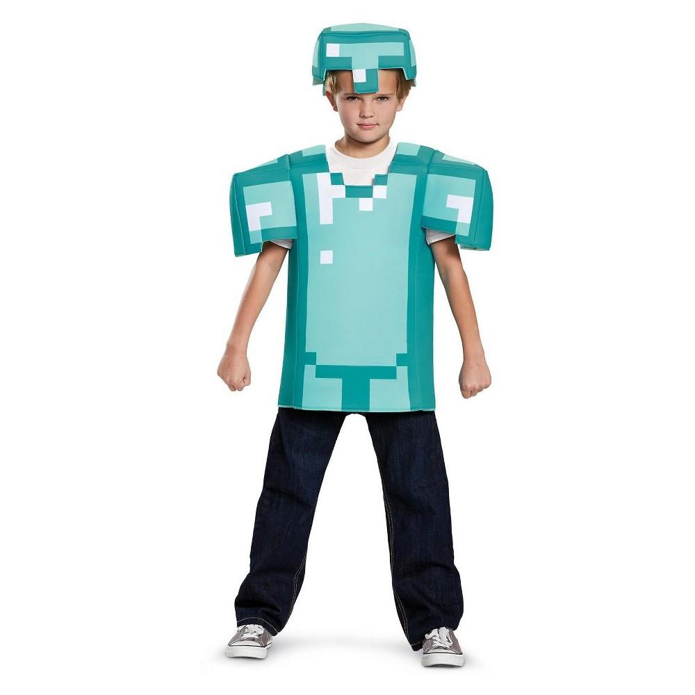 Kids' Disguise Minecraft Armor Classic Costume M, Boy's, Multicolored