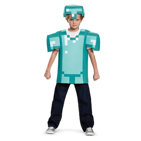 Kids' Minecraft Armor Classic Costume - image 1 of 1