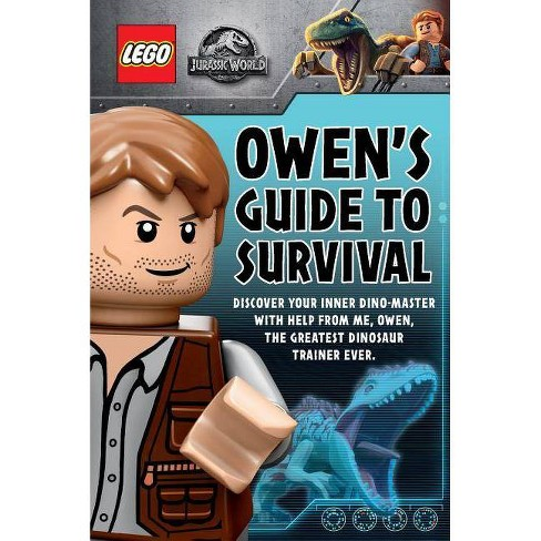 LEGO Jurassic World Owen's Guide to Survival by Meredith Rusu (Paperback) - image 1 of 1
