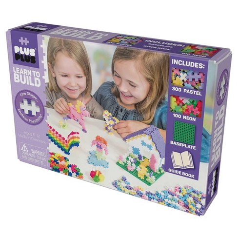 Plus Plus Learn to Build Set - Pastel - image 1 of 4