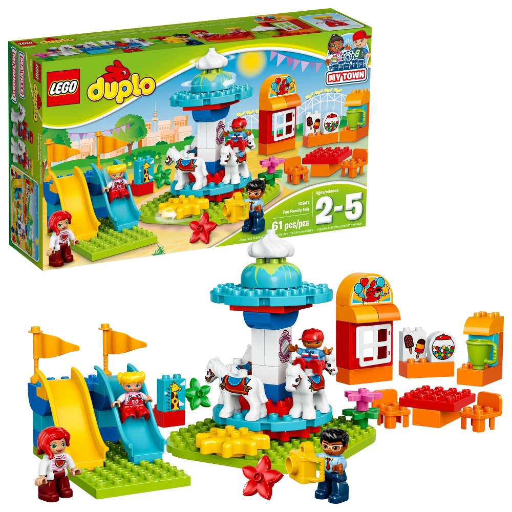 Duplo Lego Town Forest Fishing Trip From 14676 Nextag 10593 Fire Station Fun Family Fair 10841