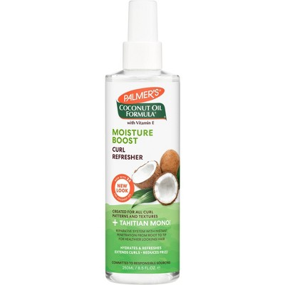 Palmer's Coconut Oil Formula Moisture Boost Curl Refresher Spray - 8.5 fl oz
